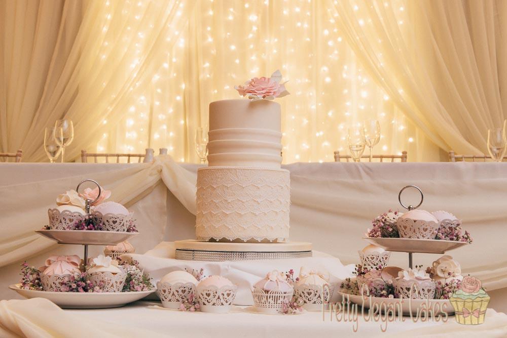 Pretty Elegant Wedding Cakes Derry Donegal - patrickduddyphotography