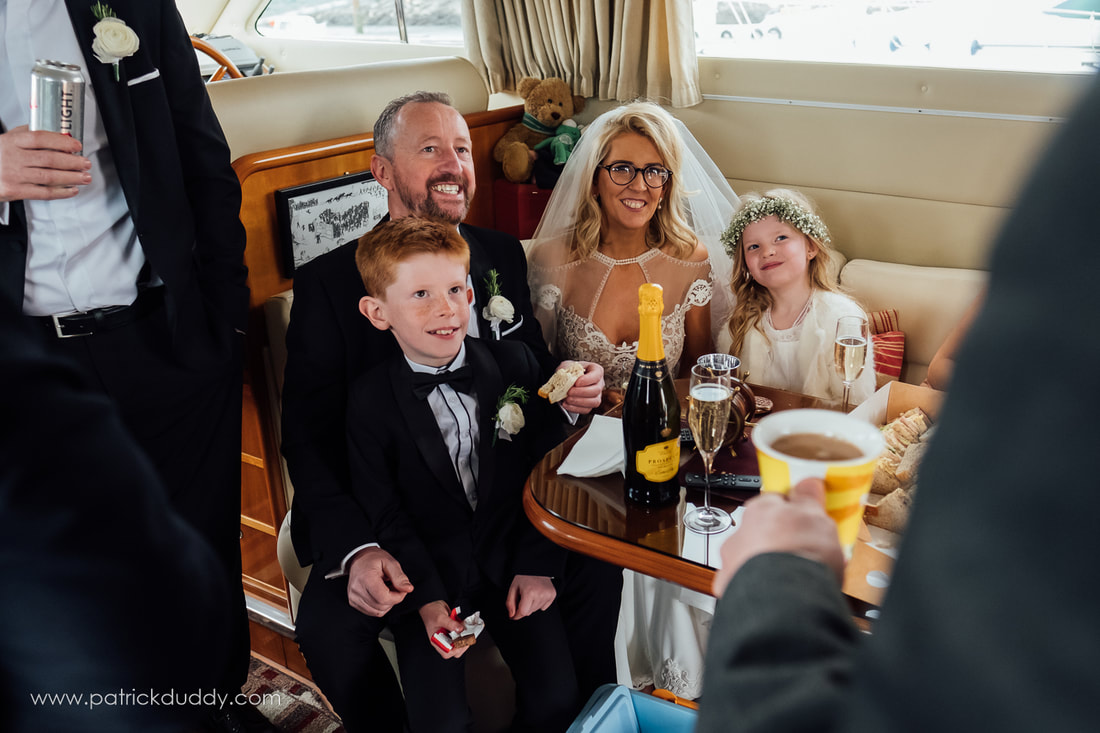 Wedding at St Patrick's, Derry & The Inishowen Gateway Hotel, Donegal. Documentary Wedding Photography by Patrick Duddy Photography, Derry, Ireland.